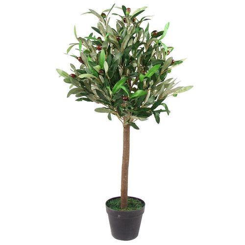 Artificial Olive Fruit Tree 90cm (3ft)