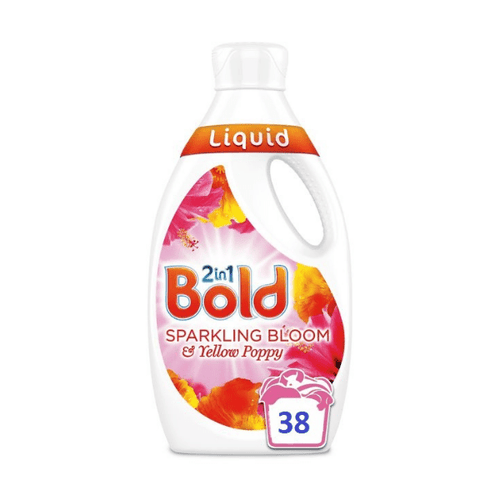 Bold Washing Liquid 2 in 1 Sparkling Bloom 38 Washes 1.33Litre