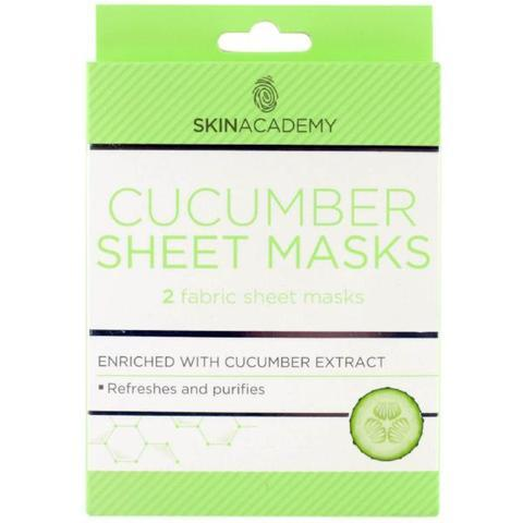 Skin Academy Cucumber Fabric Sheet Face Mask - FabFinds