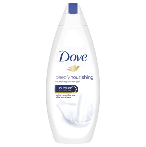 Dove Deeply Nourishing Shower Gel 500ml - FabFinds