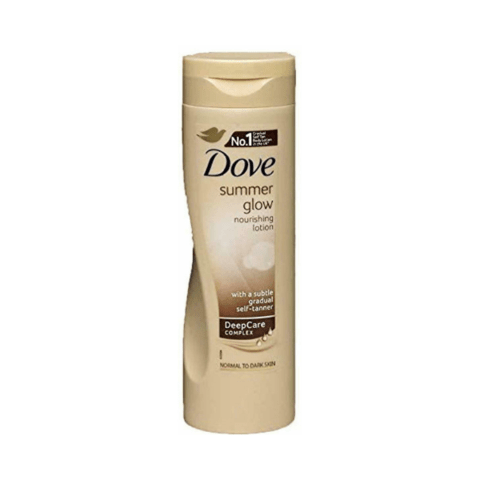 Dove Summer Glow Body Lotion Medium to Dark skin 250ml - FabFinds