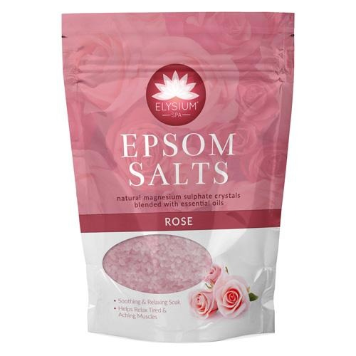 Elysium Spa Epsom Bath Salts Rose 450g