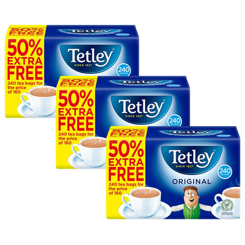 Tetley Original Tea 240 Bags 750g