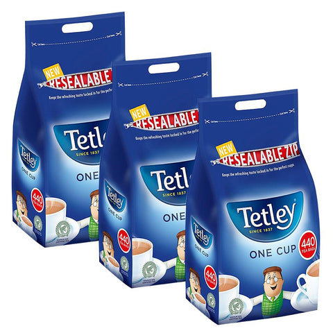 Tetley Tea One Cup Regular Tea Bags 440