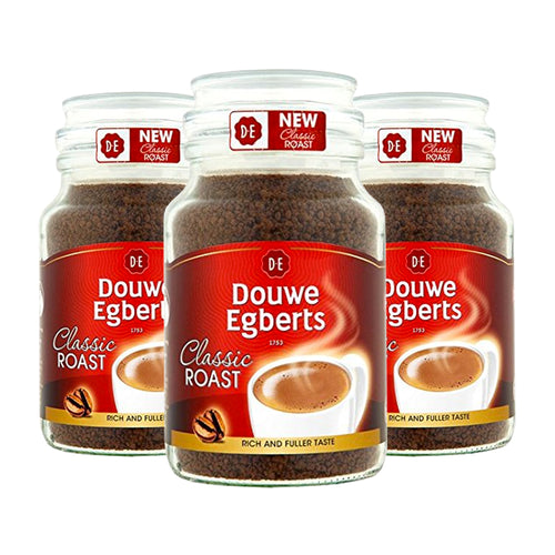 Douwe Egberts Classic Roast Coffee 200g - Case of 3