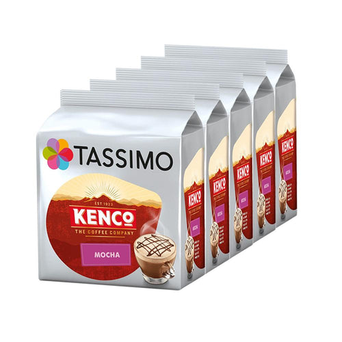 Tassimo Kenco Mocha Coffee Pods Refills 8 (Case of 5)
