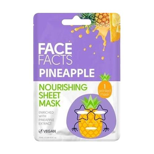 Face Facts Regenerating Pineapple Printed Sheet Mask 20ml - FabFinds