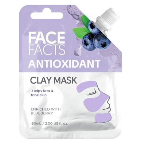 Face Facts Antioxidant Clay Mud Face Mask 60ml