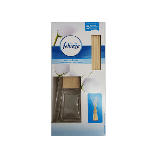 Febreze Reeds Cotton Fresh Scented Oil Diffuser 45ml