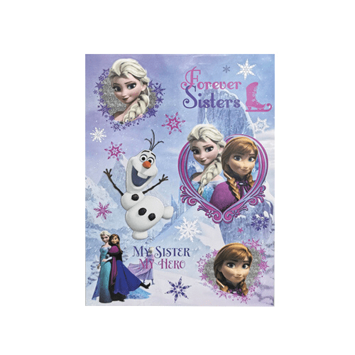 Frozen Christmas Window Stickers - FabFinds