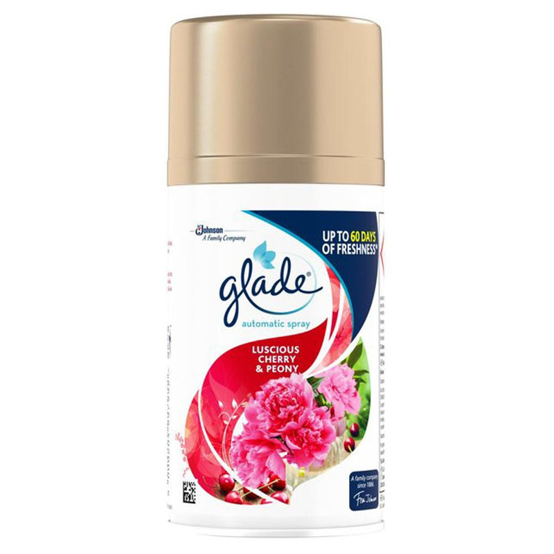 Glade Automatic Spray Refill in Lucious Cherry & Peony 269ml - FabFinds