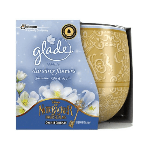 Glade Candle Dancing Flowers Jasmine, Lily & Apple 120g