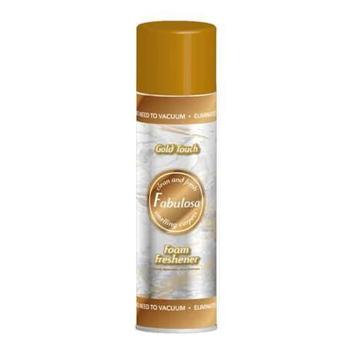 Fabulosa Gold Touch Foam Freshener Carpet Spray 300ml