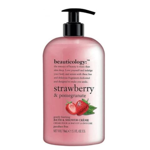 Baylis & Harding Beauticology Strawberry & Pomegranate Shower Creme 750ml - FabFinds