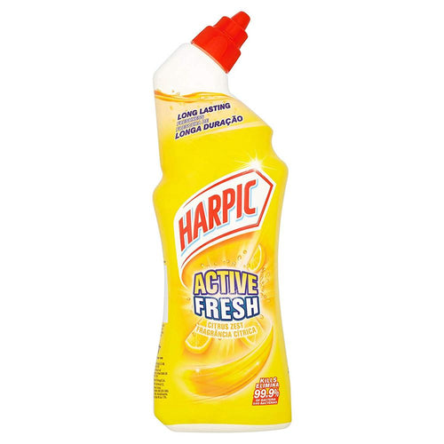 Harpic Active Fresh Toilet Cleaner Gel Citrus Zest 750ml