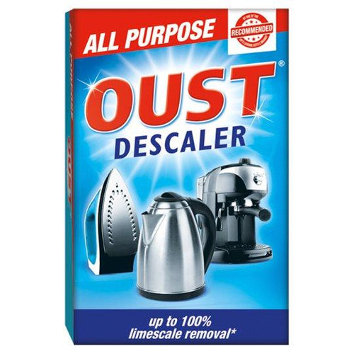 Oust All Purpose Descaler Limescale Kettle Iron Cleaner 3pk