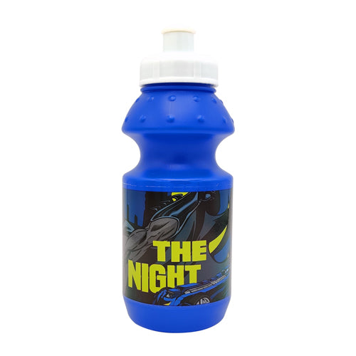 Boys Blue Batman Water Bottle