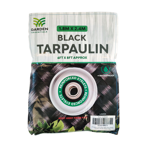 Garden Essentials Multipurpose Tarpaulin Assorted Colours