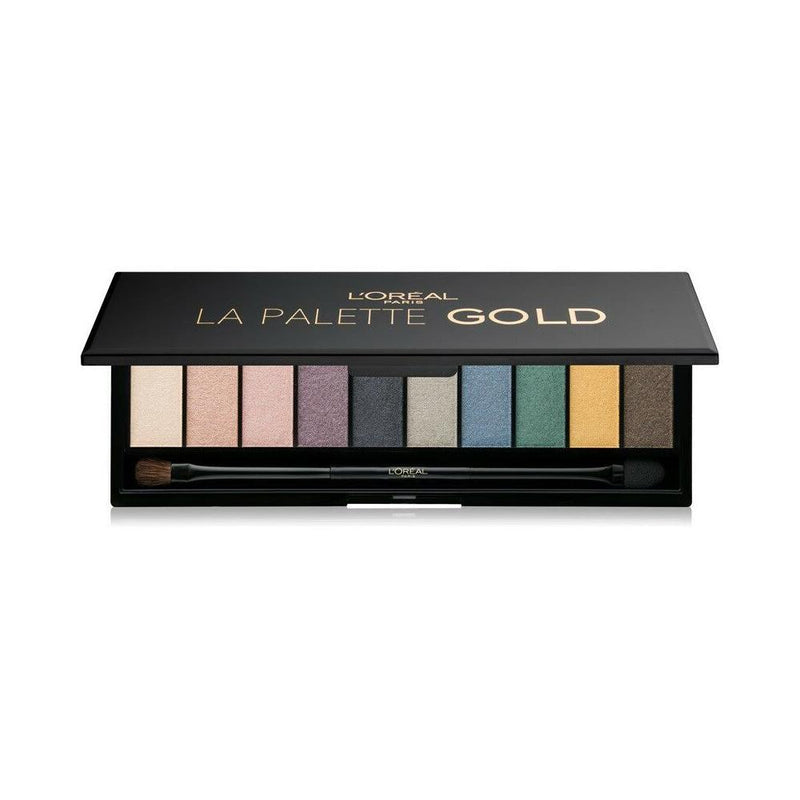 L'Oreal Color Riche Eyeshadow Palette La Palette Gold - FabFinds