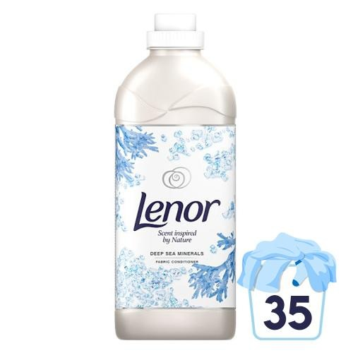 Lenor Fabric Conditioner Sea Minerals 35 Washes
