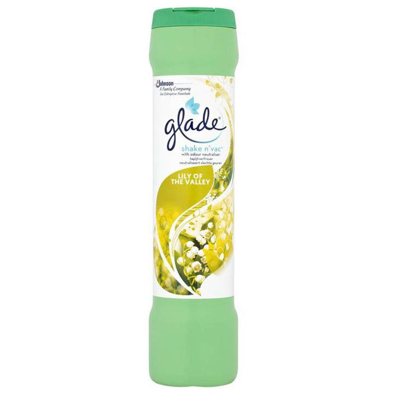 Glade Shake 'n' Vac Lily of the Valley 500g - FabFinds