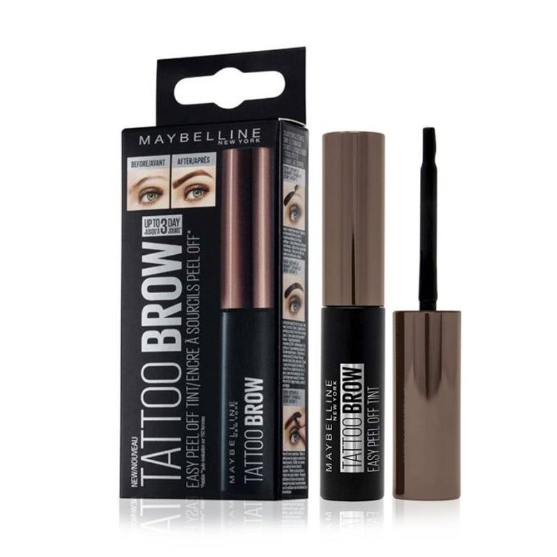 Maybelline Tattoo Brow Gel Tint 15 Warm Brown - FabFinds