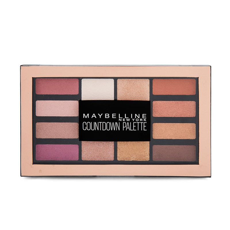 Maybelline Countdown Eyeshadow Palette 12g - FabFinds