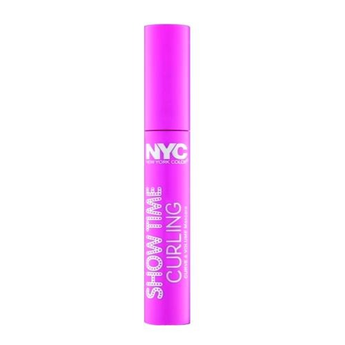 NYC Show Time Curling Mascara Extreme Black 001 8ml - FabFinds