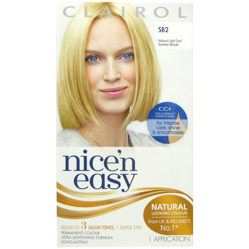 Clairol Nice n Easy Hair Colour in Cool Summer Blonde SB2 - FabFinds