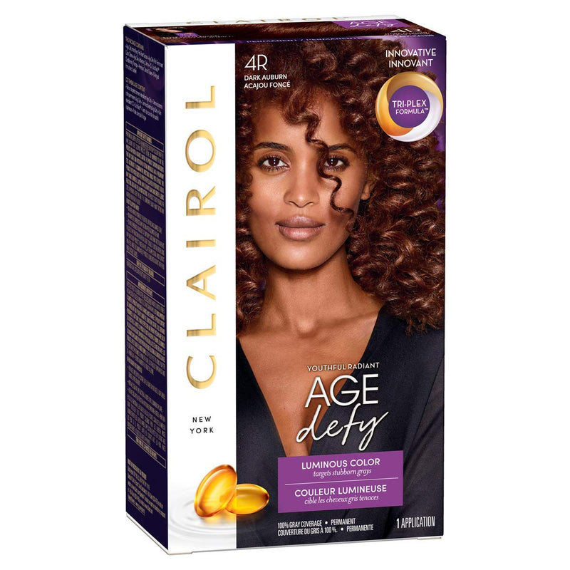 Clairol Nice n Easy Hair Colour in Dark Auburn 4R - FabFinds