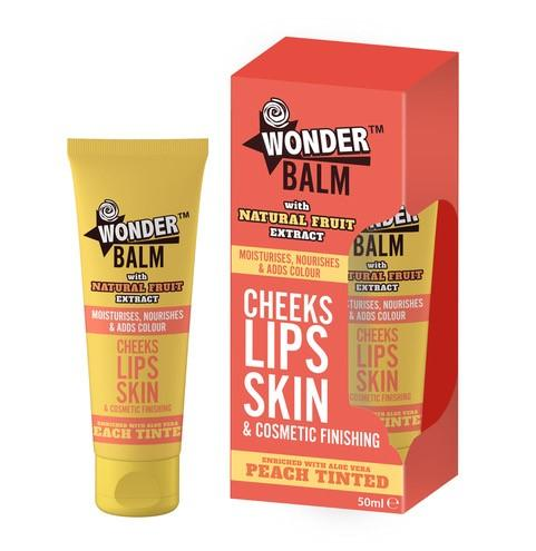 Nuage Wonder Balm Peach Tinted 50ml - FabFinds