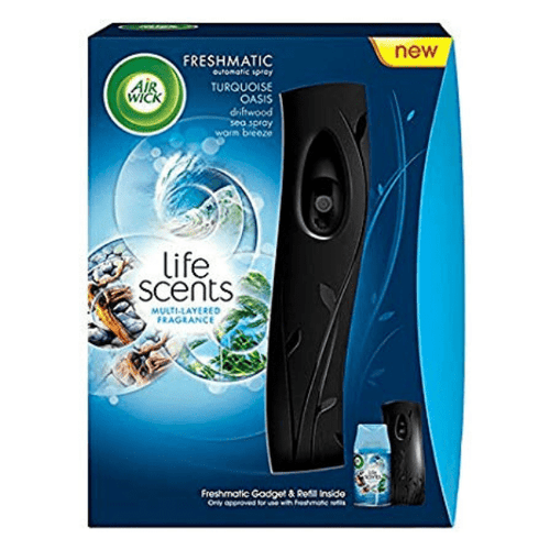 Air Wick Freshmatic Life Scents Turquoise Oasis Refill 250ml & Max Auto Spray