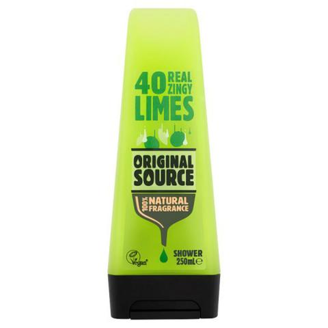 Original Source Lime Shower Gel 250ml - FabFinds
