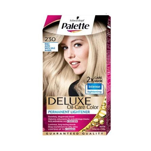 Palette Permanent Hair Colour White Gold Blonde 230 130ml - FabFinds