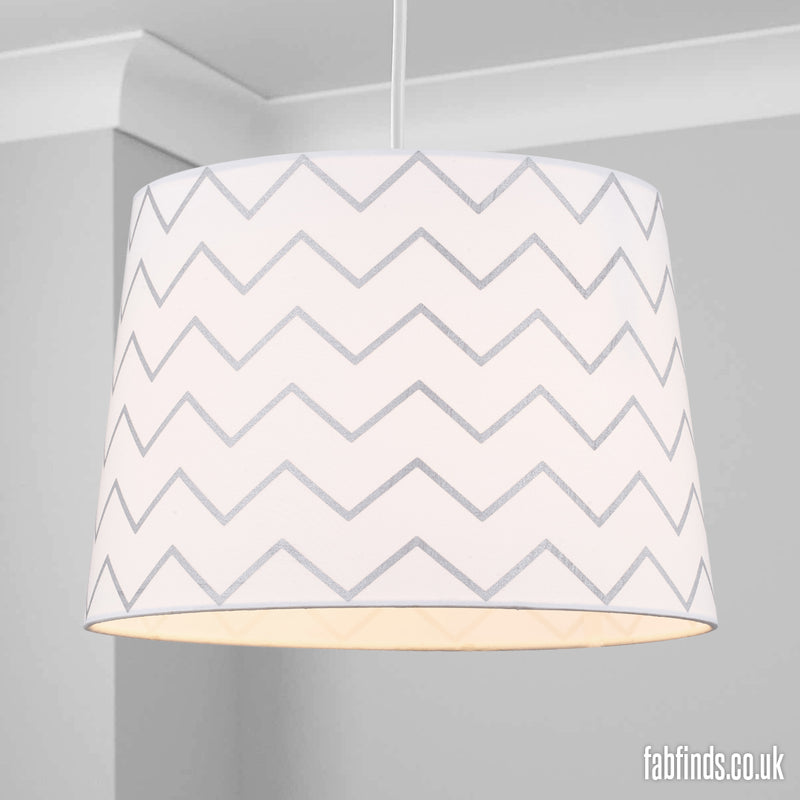 Home Collection Zig Zag Shade Assorted Colours