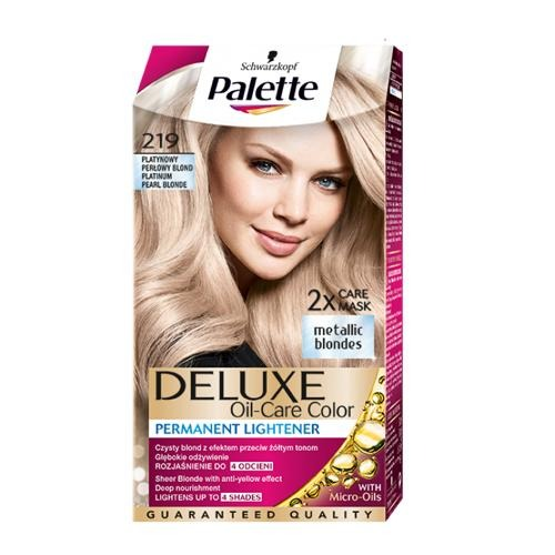 Palette Hair Colour Pearl Blonde 219 130ml - FabFinds