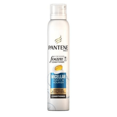 Pantene Pro-V Foam Conditioner Micellar Purify & Nourish 180ml - FabFinds