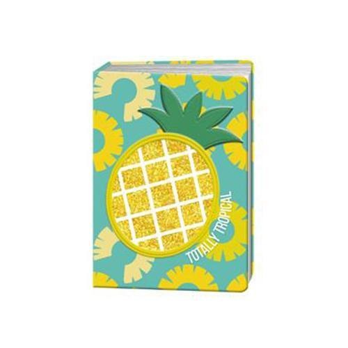 Novelty A5 Pineapple Lined Notebook - FabFinds