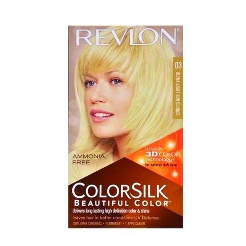 Revlon Colorsilk Hair Colour Ultra Light Sun Blonde 03 440g - FabFinds