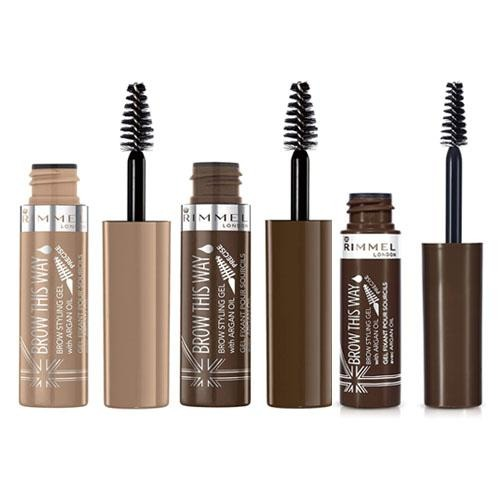 Rimmel Brow This Way Brow Styling Gel In Assorted Colours 5ml