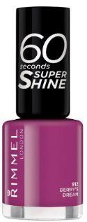 Rimmel 60 Seconds Nail Polish Berry's Dream 912 8ml - FabFinds