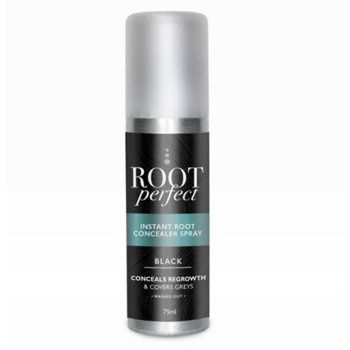 Root Perfect Instant Root Concealer Spray In Black 75ml