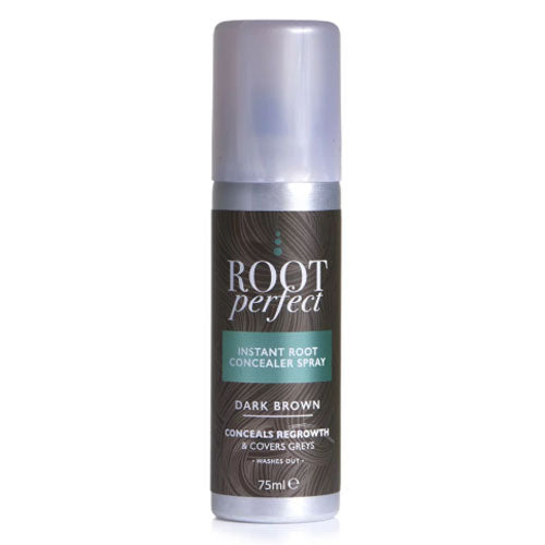 Root Perfect Instant Root Concealer Spray In Dark Brown 75ml