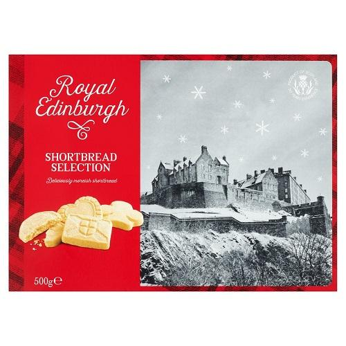Royal Edinburgh Shortbread Selection 500g - FabFinds