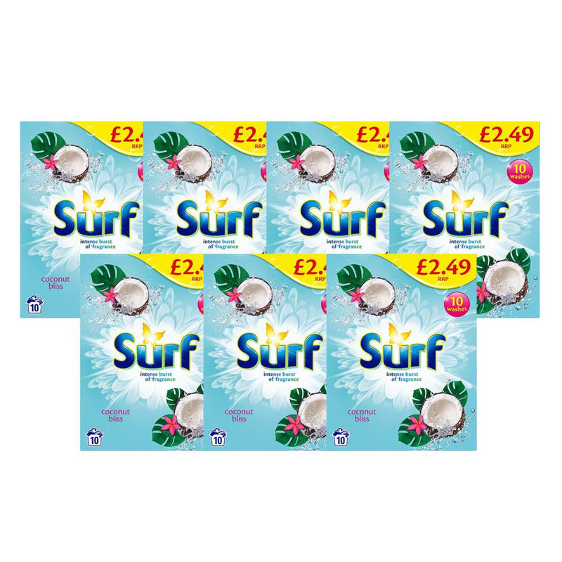 Surf Coconut Bliss Laundry Powder 10 Washes - FabFinds