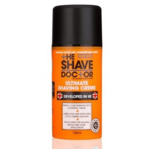 The Shave Doctor Ultimate Shaving Cream for Men 100ml - FabFinds