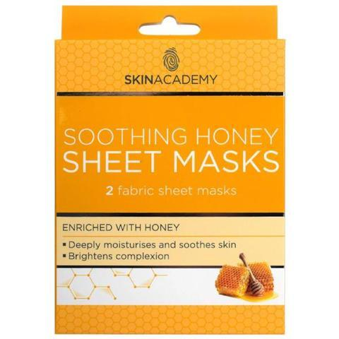 Skin Academy Soothing Honey Fabric Sheet Face Mask - FabFinds