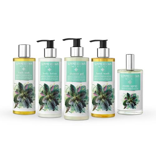 Treat Yourself 5-Piece Summerdown Mint Christmas Bundle