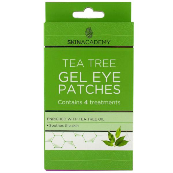Skin Academy Tea Tree Oil Gel Eye Patches 4 Treatments - FabFinds