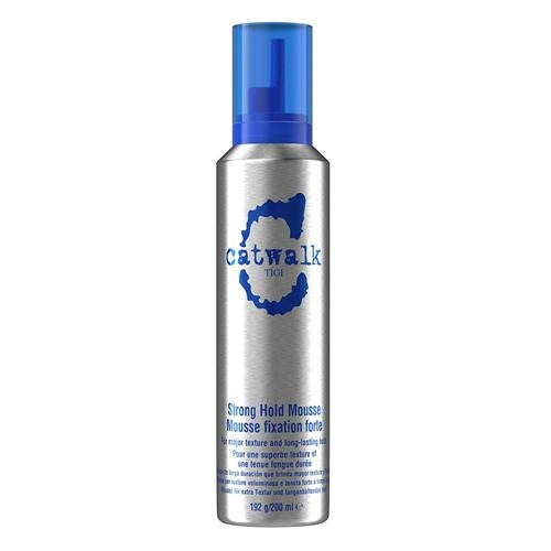 Tigi Catwalk Blue Strong Hold Mousse 200ml - FabFinds